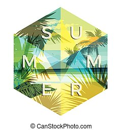 Vector illustration with the slogan for t-shirts, posters,...
