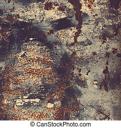 Rust texture. Colorful Rusty old scratched metal textured...