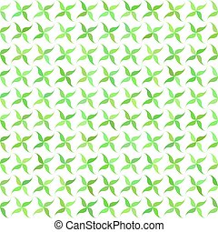 Green abstract leaf pattern background design