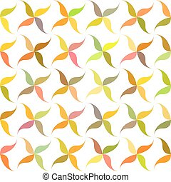 Autumn abstract leaf pattern background design