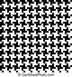 Houndstooth seamless pattern