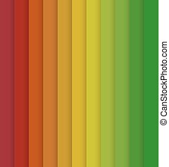 Vertical Red Yellow Green Colorful Striped Seamless Background