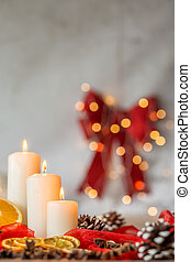 Home decoration for Christmas - Home decoration with...