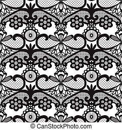 seamless pattern with lace