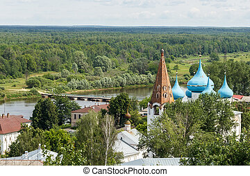 Gorokhovets, Vladimir region. View from the Puzhalova...
