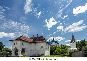 The house of the merchant Oparin in Gorokhovets. Vladimir...