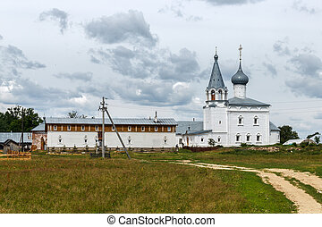 Znamensky Convent on the Klyazma in Gorokhovets. Before the...