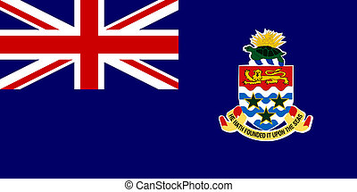 Cayman Islands - Sovereign state flag of dependent country...