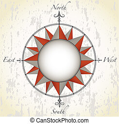 Compass rose - Antique compass rose