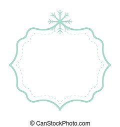 happy merry christmas frame card