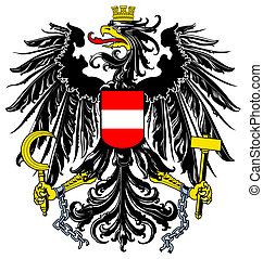 Austria Coat or Arms - Austria coat of arms, seal or...