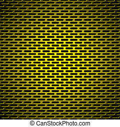 slot grill gold metal background - Abstract gold metal...