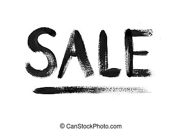 Sale hand drawn lettering - Sale word hand drawn lettering...