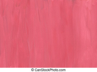 Gouache red background - Hand painted gouache red grunge...