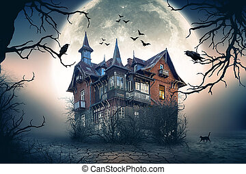 Haunted House - Haunted Spooky House