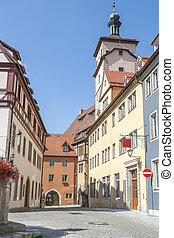 Rothenburg ob der Tauber - city view of Rothenburg ob der...