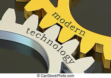 Modern Technology concept, 3D rendering