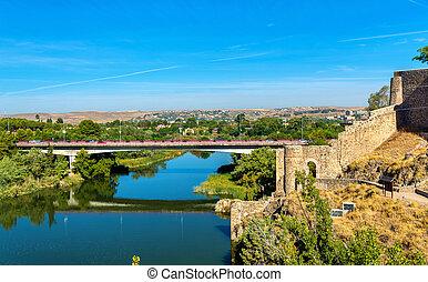 Puente de la Cava, a bridge in Toledo, Spain - Puente de la...