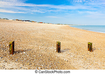 Pagham Beach West Sussex - The shingle Pagham beach West...