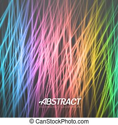 Abstract Light Background. Vector Motion Graphics Disco...