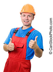 Positive builder worker isolated