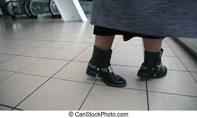 Women's boots in dance