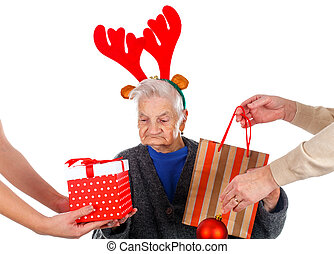 Christmas gifts for a beautiful grandmother - Picture of an...
