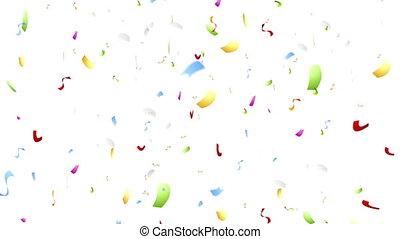 Colorful confetti video animation - Colorful confetti...