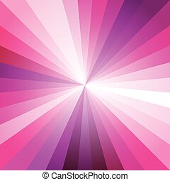 Pink Light Ray Abstract Background Vector Illustration EPS10