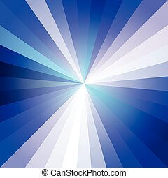 Blue Light Ray Abstract Background Vector Illustration EPS10