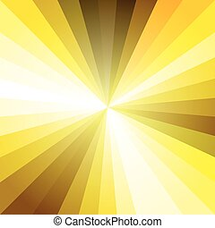 Gold Light Ray Abstract Background Vector Illustration EPS10