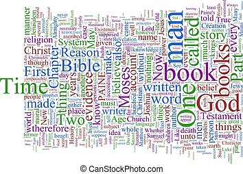 Word Cloud - Paine\'s Age of Reason - A word cloud based on...