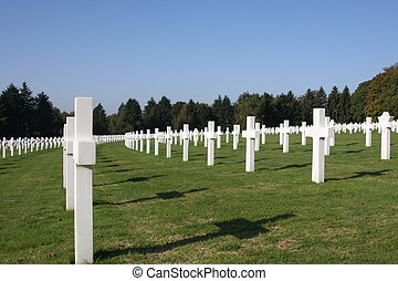 Military cemetary - The American Military Cemetary In...