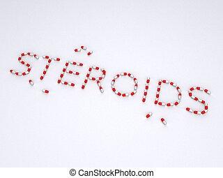 pills : steroids