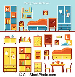 Baby Room Furniture Infographics - Baby room furniture...