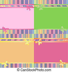 decorative striped backgrounds