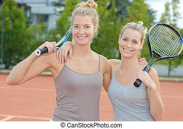 tennis player friends