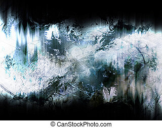 blue grunge background - abstract blue grunge background for...