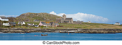 Iona Scotland uk Inner Hebrides Scottish island west coast...