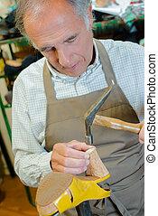Skilled cobbler