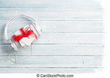 Christmas music gift concept