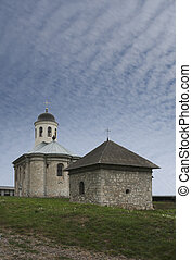 Church near Halych (Ukraine, XVI century) - Dormition Church...