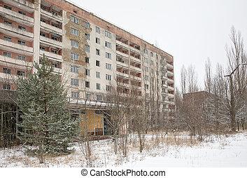 Chernobyl Exclusion Zone - CHERNOBYL REG, UKRAINE - Nov 29,...