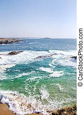 Seascape of Porto Covo , Portugal
