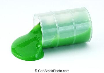 Slime spill  - Slime spill