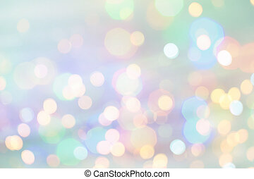 Holiday Lights. Festive abstract background with glare.
