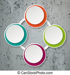 Colorful Infographic Paper Lifecycle Concrete - Colorful...