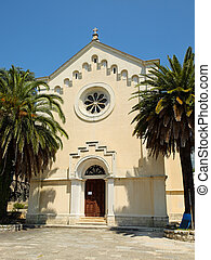 Church of St. Jerome in town Herceg Novi, Montenegro