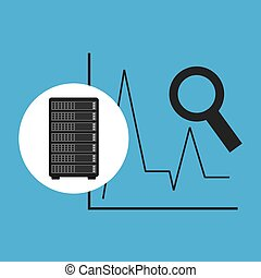 network server concept statistics searching vector...