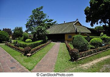 Hue Citadel Building - A building in Hue Citadel